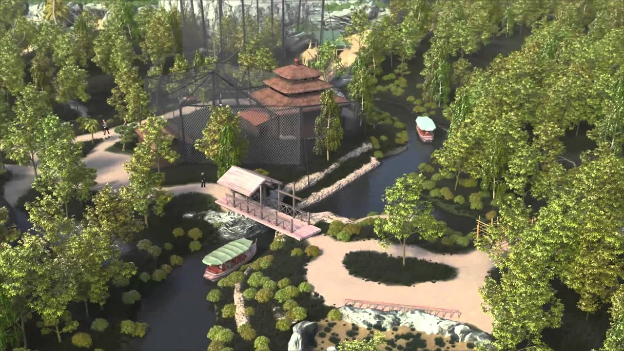 Zoo Leipzig 3d Fly-through Of Islands At Chester Zoo - Opens Spring