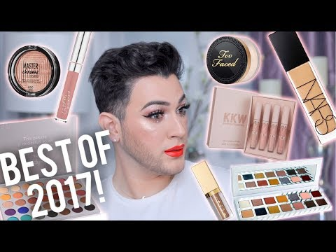 BEST DRUGSTORE AND HIGHEND MAKEUP OF 2017!