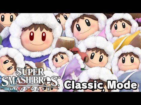 THEY'RE EVERYWHERE - Super Smash Bros. Ultimate - Ice Climbers Classic Mode Multiplayer thumbnail