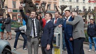Крок в Європу – у Чернівцях з'явилася публічна електрозаправка