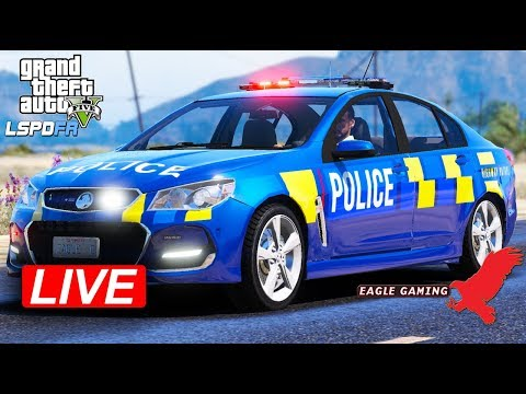 GTA V | New Zealand LSPDFR Live! | Route 68 Highway Patrol in the New Zealand Police VFII SV6