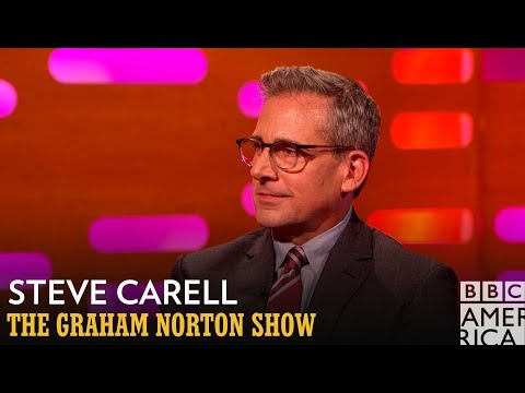 Thumbnail: Steve Carell Rocked A Pornstache In His 20's - The Graham Norton Show