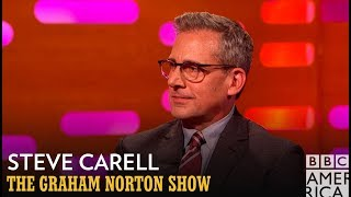 Steve Carell Rocked A Pornstache In His 20's - The Graham Norton Show