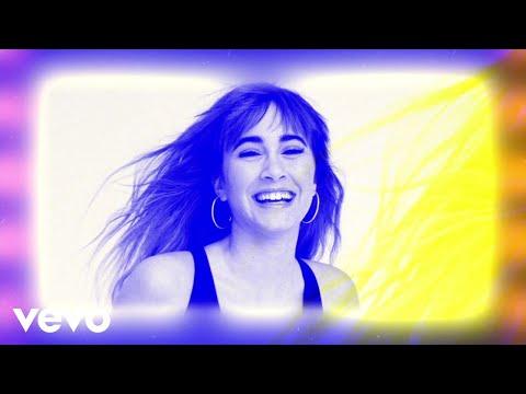Letra  Me quedo - Aitana, Lola Indigo (Visualiser)