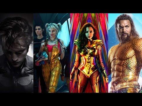 Upcoming DC Movies 2020-2022