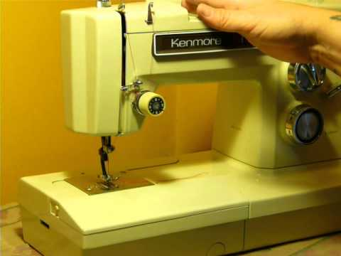 NIFTYTHRIFTYGIRL: KENMORE CONVERTIBLE MODEL 1931 SEWING