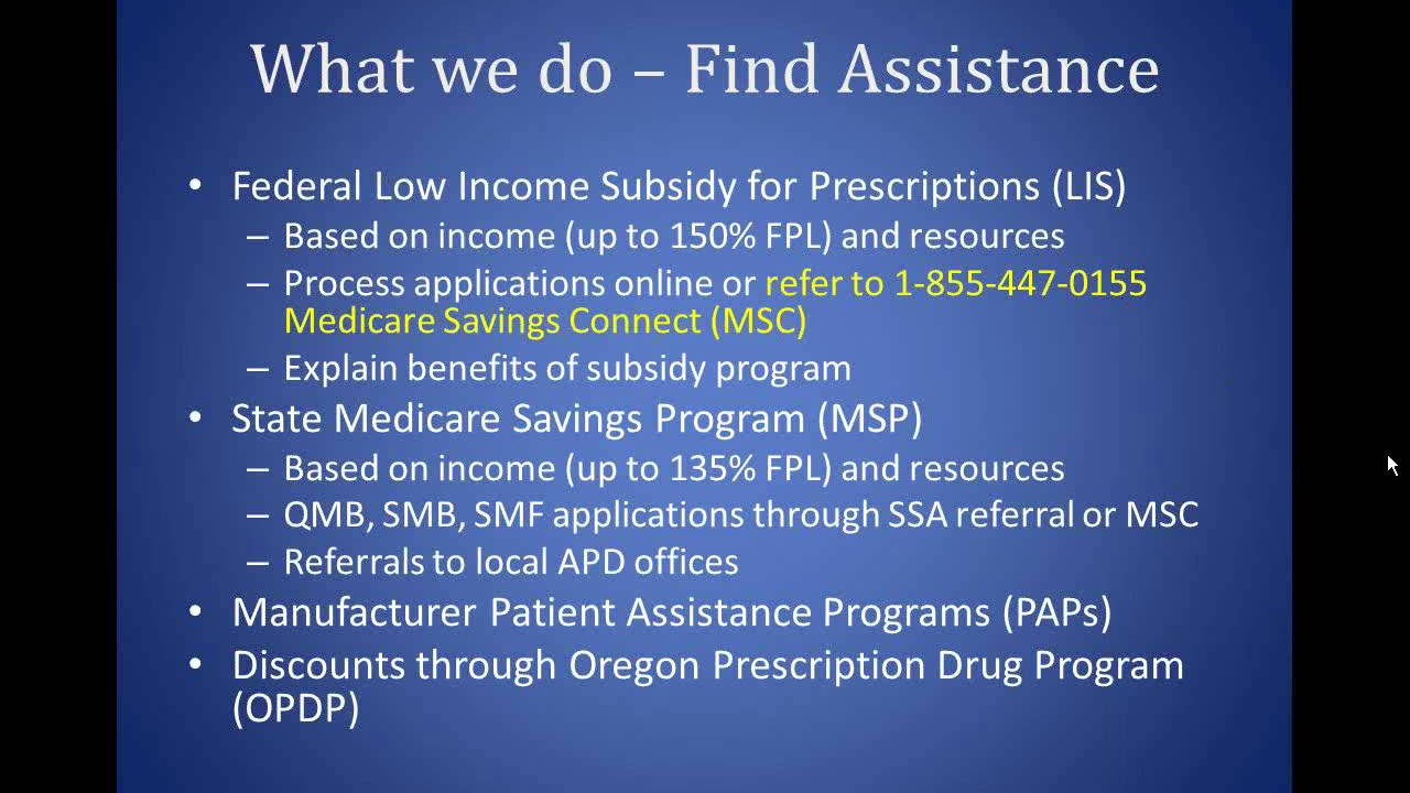 A Beginner's Guide To Low Income Subsidy Programs Medicare
