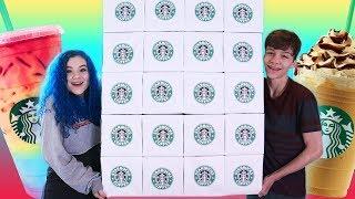 Giant Starbucks Advent Calendar 2018!