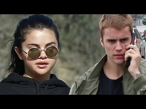 "Justin Bieber Tries To ""Accidentally"" Run Into Selena Gomez! Selena Wants No Part Of It!"