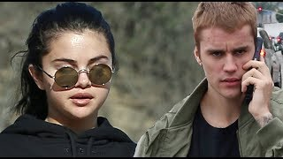 "Justin Bieber Tries To ""Accidentally"" Run Into Selena Gomez! Selena Wants No Part Of It! Video"
