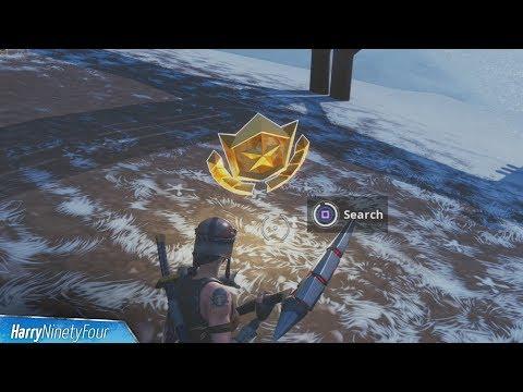 Secret Season 7 Week 9 Battlestar Location Guide (Snowfall Challenges) - Fortnite Battle Royale