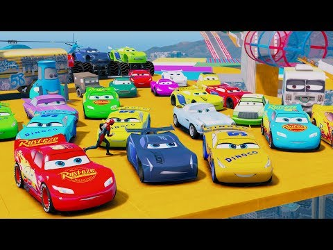 Disney Cars  Mcqueen Learn Colors And Miss Fritter