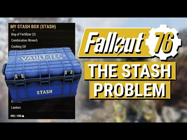 fallout 76 stash size limit