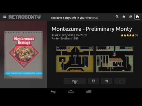 RetroX five minutes tutorial (f.k.a. RetroBoxTV)