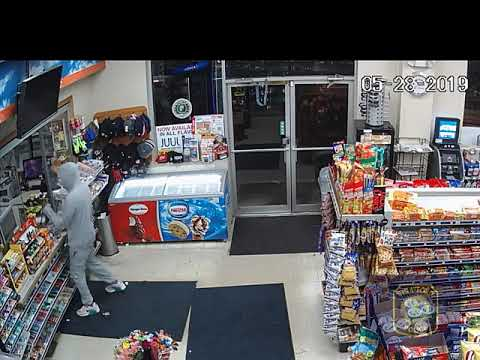 Stratford Police are asking the public for help locating a man who robbed the Gulf Express at gunpoint.