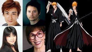 Anime Voice Comparison- Ichigo Kurosaki (Bleach)