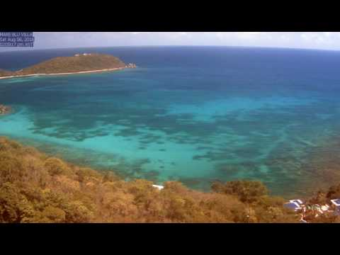 St. John Rendezvous Bay, August 2016 Time Lapse