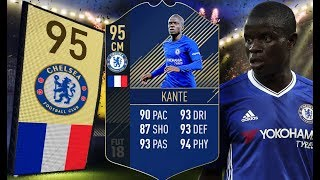 FIFA 18 - Mały, ale wariat! 95 TOTY N'Golo Kante!