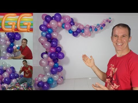 balloon arch - Organic Arch and Garland - gustavo gg