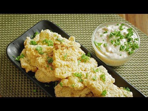 【Short Version】Crispy Fish Fillet With Tartar Sauce 🎧