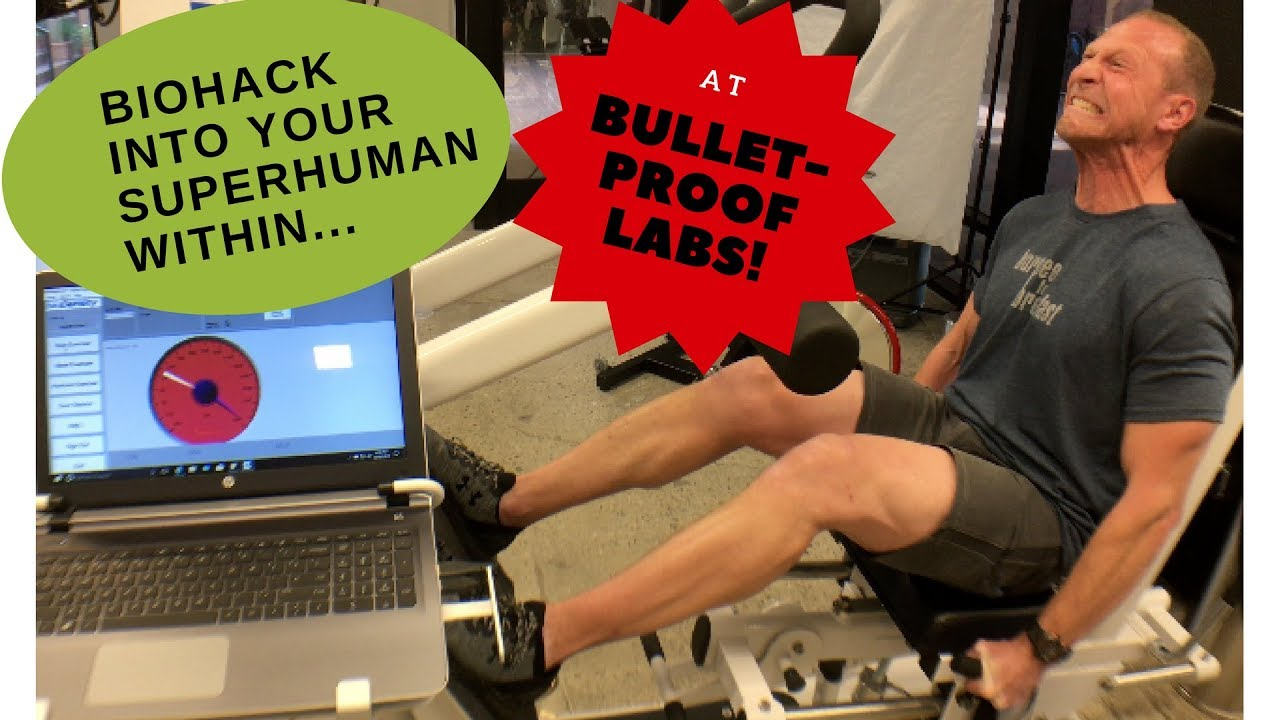 Biohacking your inner superhuman at Dave Asprey's Bulletproof Lab