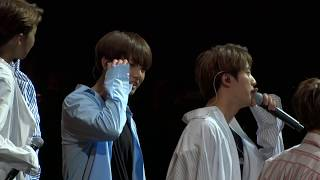 "Video BTS - Outro: Wings + Talking: ""First show after BBMA"" [BTS Wings Sydney Tour 2017] download MP3, 3GP, MP4, WEBM, AVI, FLV Mei 2018"