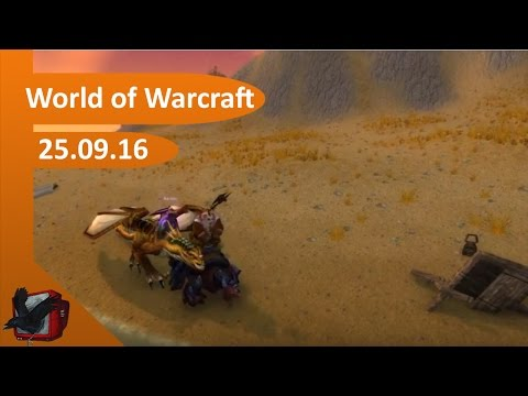 Für die Allianz! [World of Warcraft Livestream 25.09.16] | CBTV