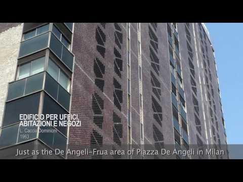 Modern architecture in Legnano, Milan