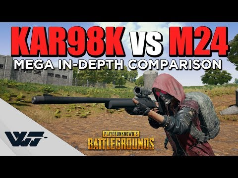 GUIDE: Kar98k vs M24 - MEGA COMPARISON - (+Critical Misalignment Uncovered) - PUBG