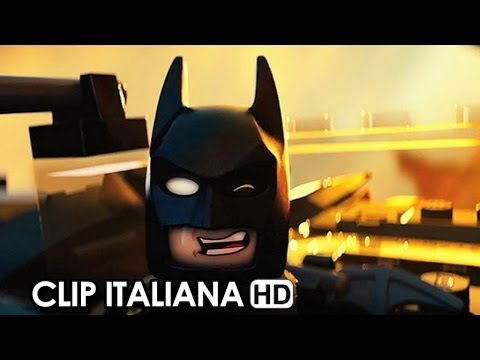 The Lego Movie Clip Ufficiale Italiana 'Sono Batman' (2014) - Phil Lord, Chris Miller Movie HD