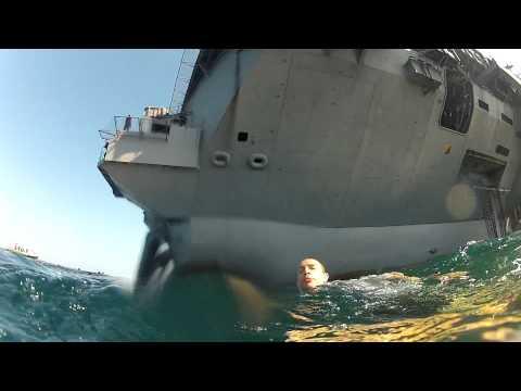 U.S. Navy Swim Call