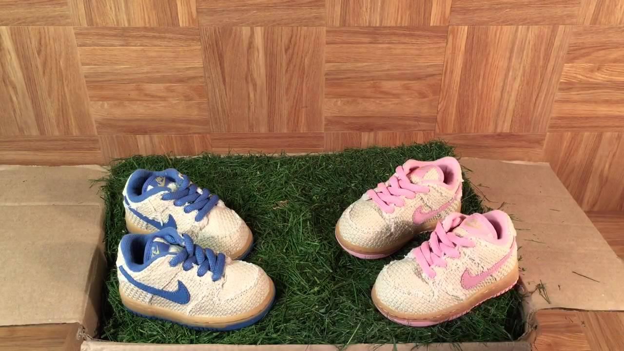 ShoeZeum Baby Hemp Nike Dunk SBs For