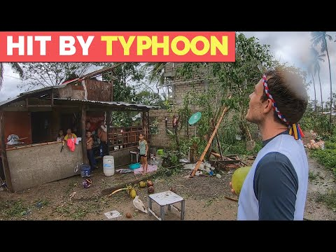 STRONG TYPHOON In The PHILIPPINES | Filipino Resilience And Tisoy