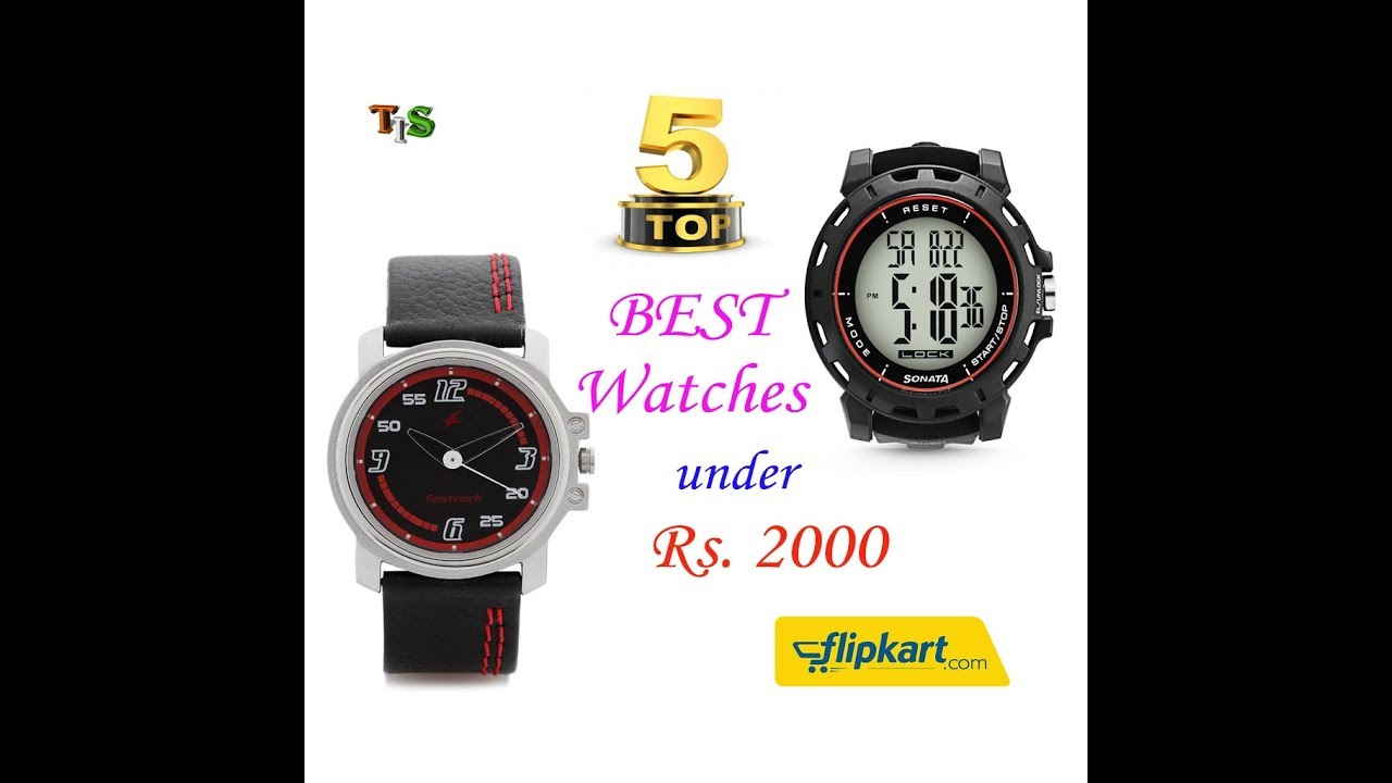 44ce52aaf Top 5 Best Watches Under Rs. 2000 for Men in 2018 - YouTube