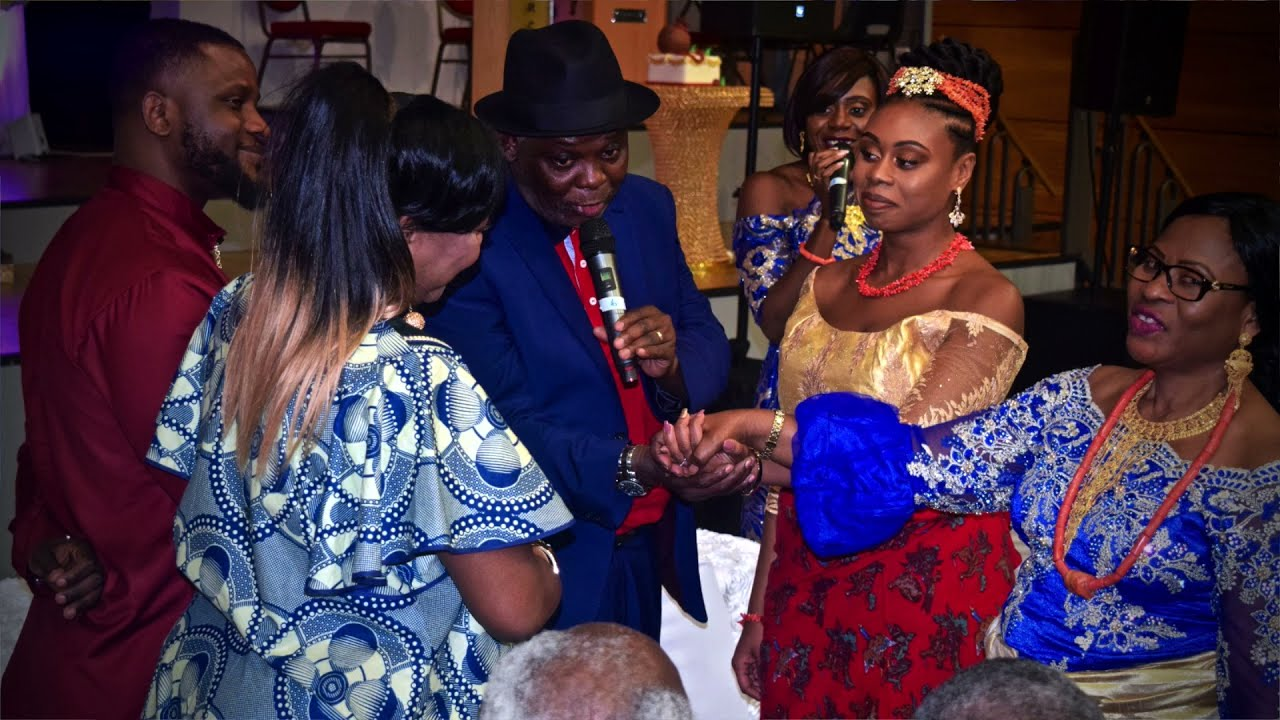 Nigerian Wedding DJ - Congolese Weds Nigerian (Best Entrance Dance)