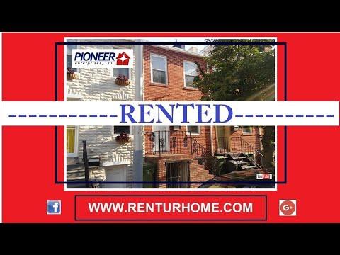 RENTAL - 913 Ramsay, Street Baltimore, Md 21223