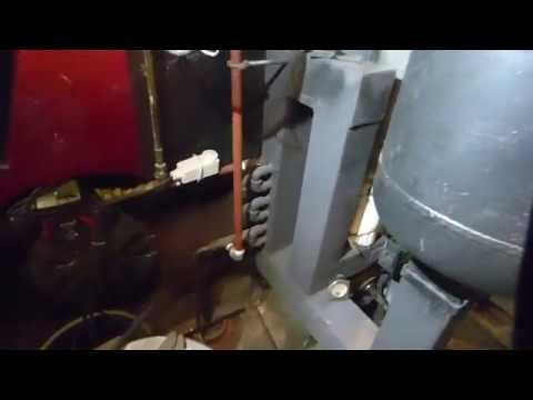 Feed tube rocket stove space heater/boiler wood pellet No46