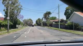 Driving in Sydney