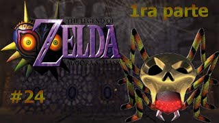 Cacería de arañas en la casa de la playa 1ra parte/The Legend of Zelda Majora´s Mask #24