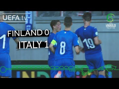 #U19EURO Highlights: Finland 0-1 Italy