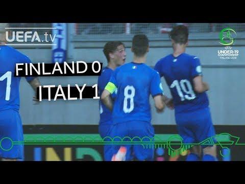 #U19EURO highlights: Finland 0-1 Italy