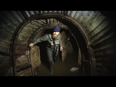 Flooded Bunker Complex -- WW2 Tunnels Shrouded in Mystery Series -- Episode 2