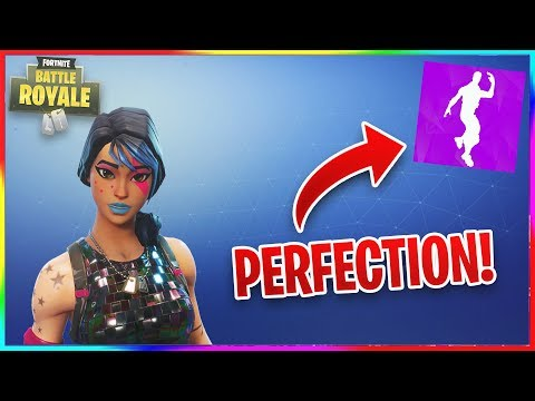 AliA Song + Electro Shuffle = Perfection Fortnite