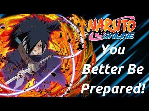 Naruto Online : Madara Blitz In Sage! (20+ Wins)