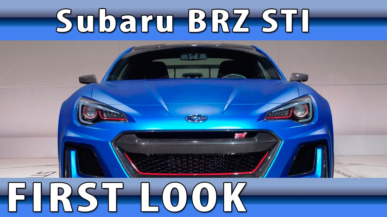 Subaru Brz Sti No Turbo But Subaru Brz Sti Confirmed For America