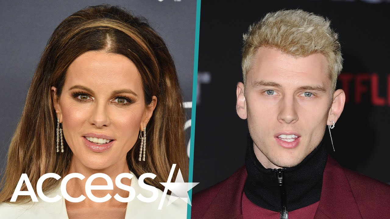 Kate Beckinsale Leaves Golden Globes Party With Ex Pete Davidson's Pal Machine Gun Kelly