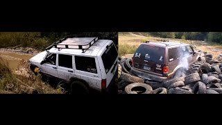 jeep and ford off roading in dresser wi including tire pit