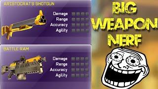 BIG Weapon NERF! - Respawnables Update!