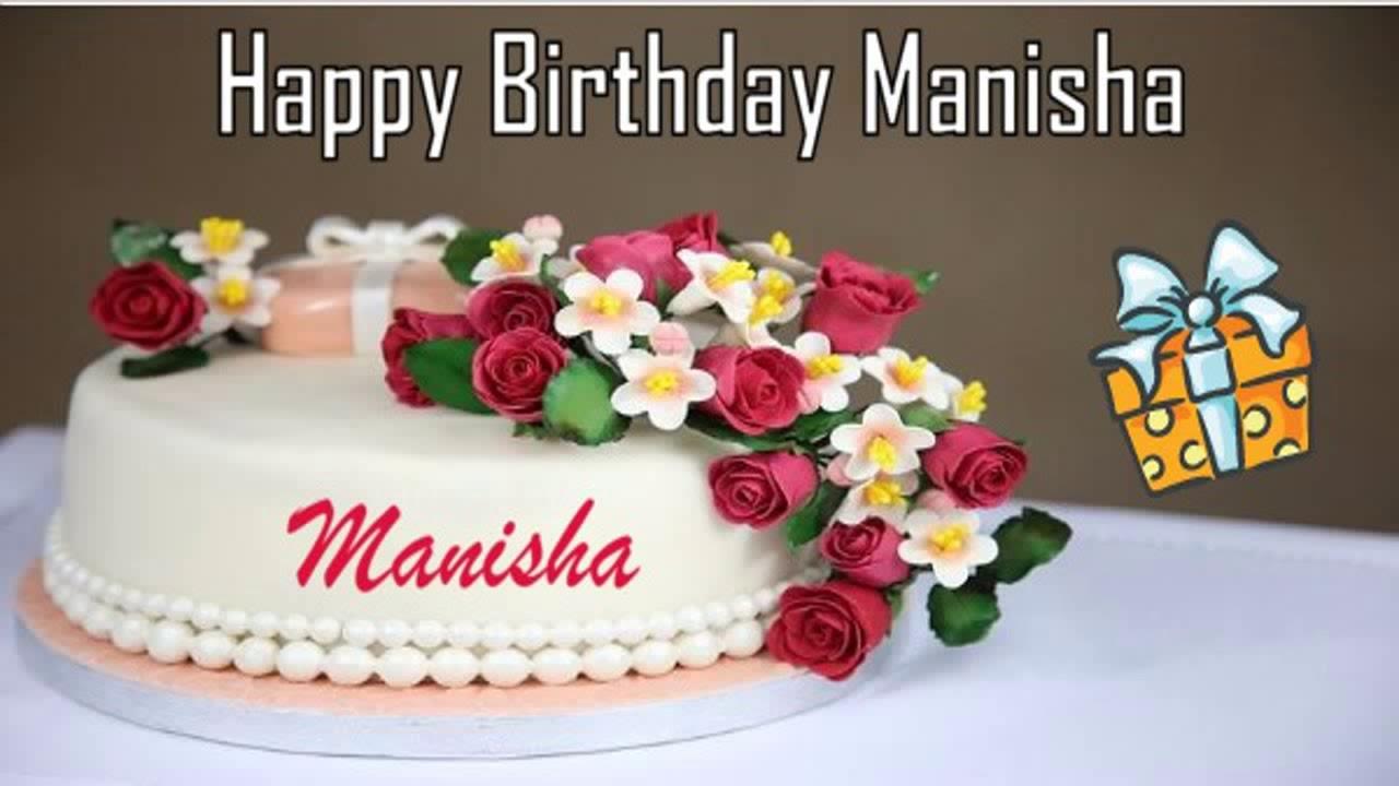 Happy Birthday Manisha Image Wishes Youtube