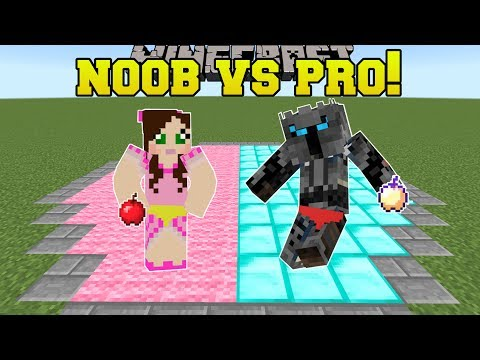 Thumbnail: Minecraft: NOOB VS PRO!!! - SUMO! - Mini-Game